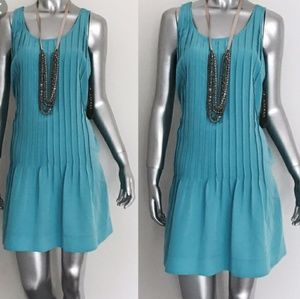 Robin's egg Blue Comfy pleated Ralph dress!